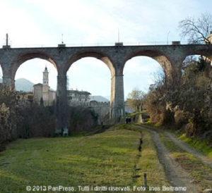 Il ponte nuovo di Dronero, voluto da Giolitti