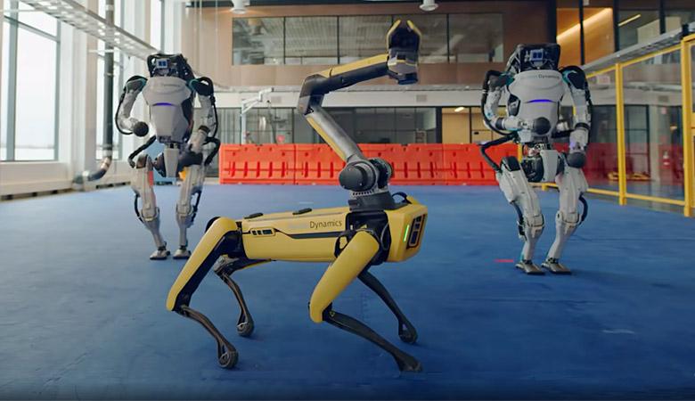 Robot a tempo di twist